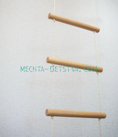 Веревочная лестница для пристенных комплексов