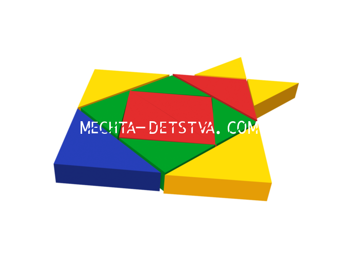 Мягкий модуль «Рыбка» ДМФ-МК-12.95.08