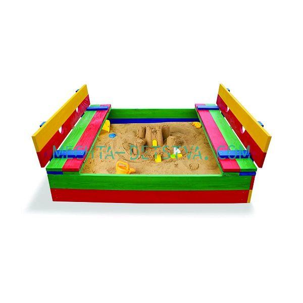Детская песочница цветная №11
