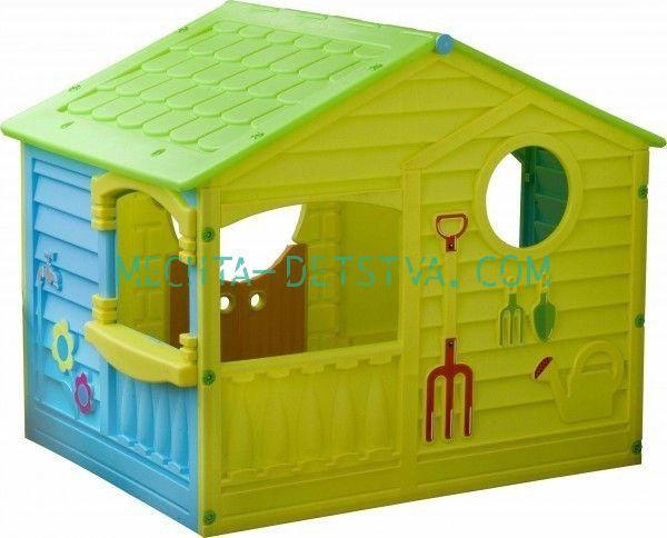 Детский игровой домик Коттедж 560